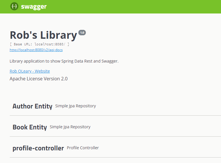 Document a Spring Data REST API with Swagger ☕